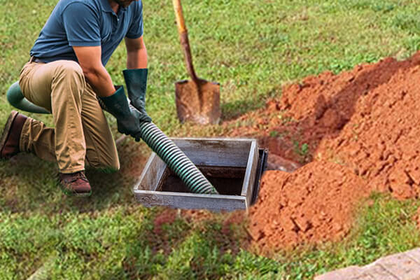 Septic tank clean
